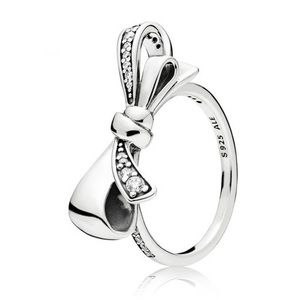 NEW Pandora - BRILLIANT BOW RING, STERLING SILVER